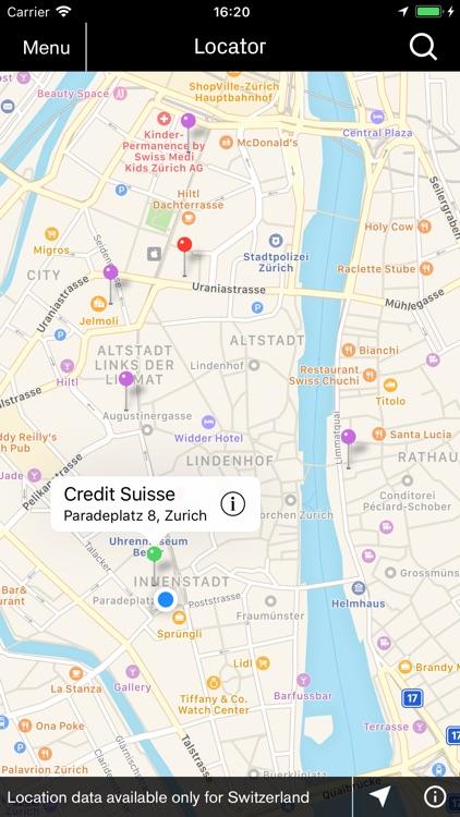 Credit Suisse Direct – Banking screenshot-3