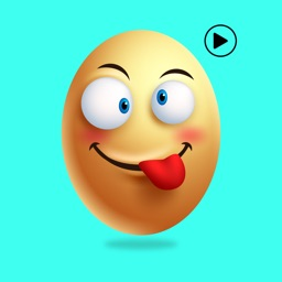 Egg Smiley Animated