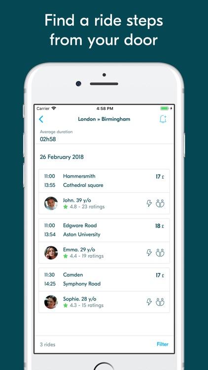 BlaBlaCar - Trusted Carpooling screenshot-3