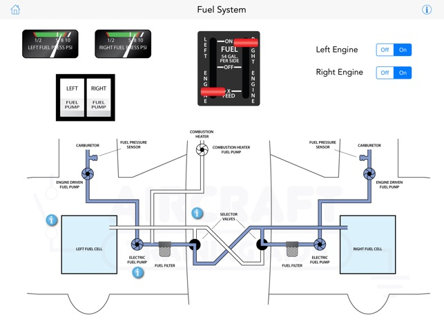 electrical wiring diagram app piper pa-44 training on the app store
