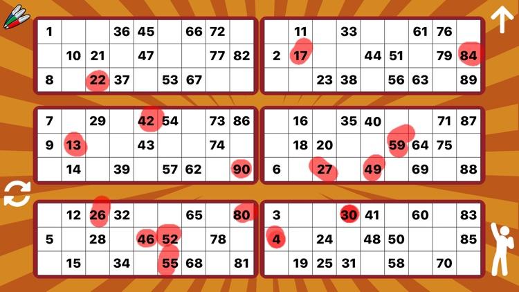 Bingo Caller - 75 & 90 Ball screenshot-4
