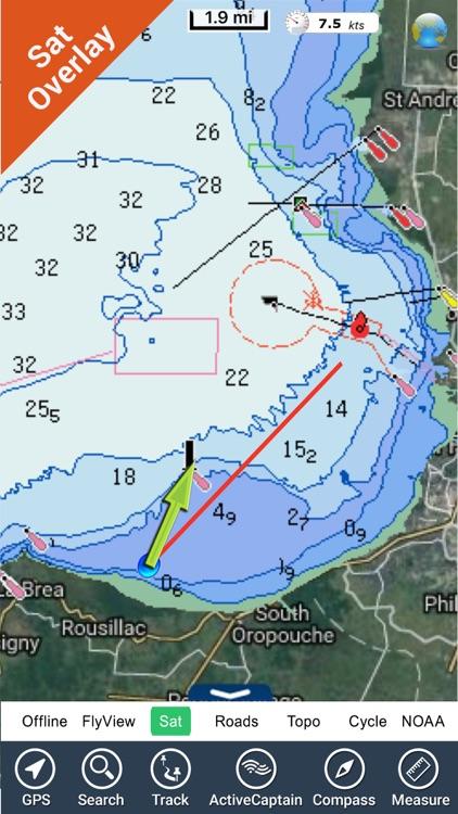 Trinidad & Tobago - GPS Map Navigator
