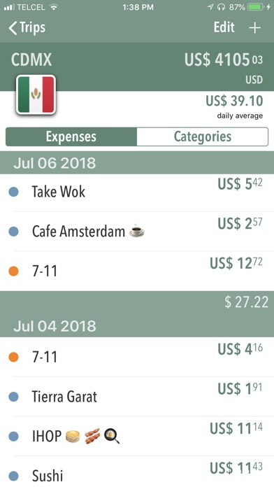 gobo travel expense log app price drops