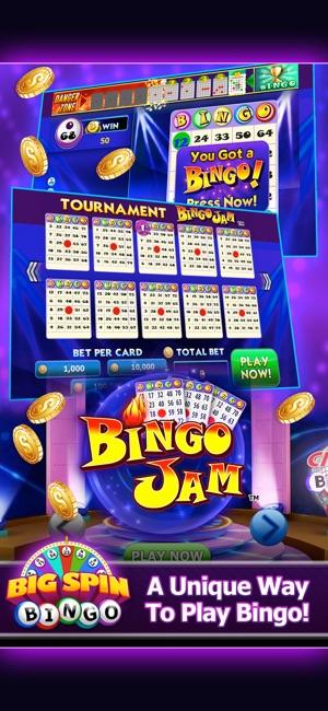 Big Spin Bingo Best Bingo Game On The App Store