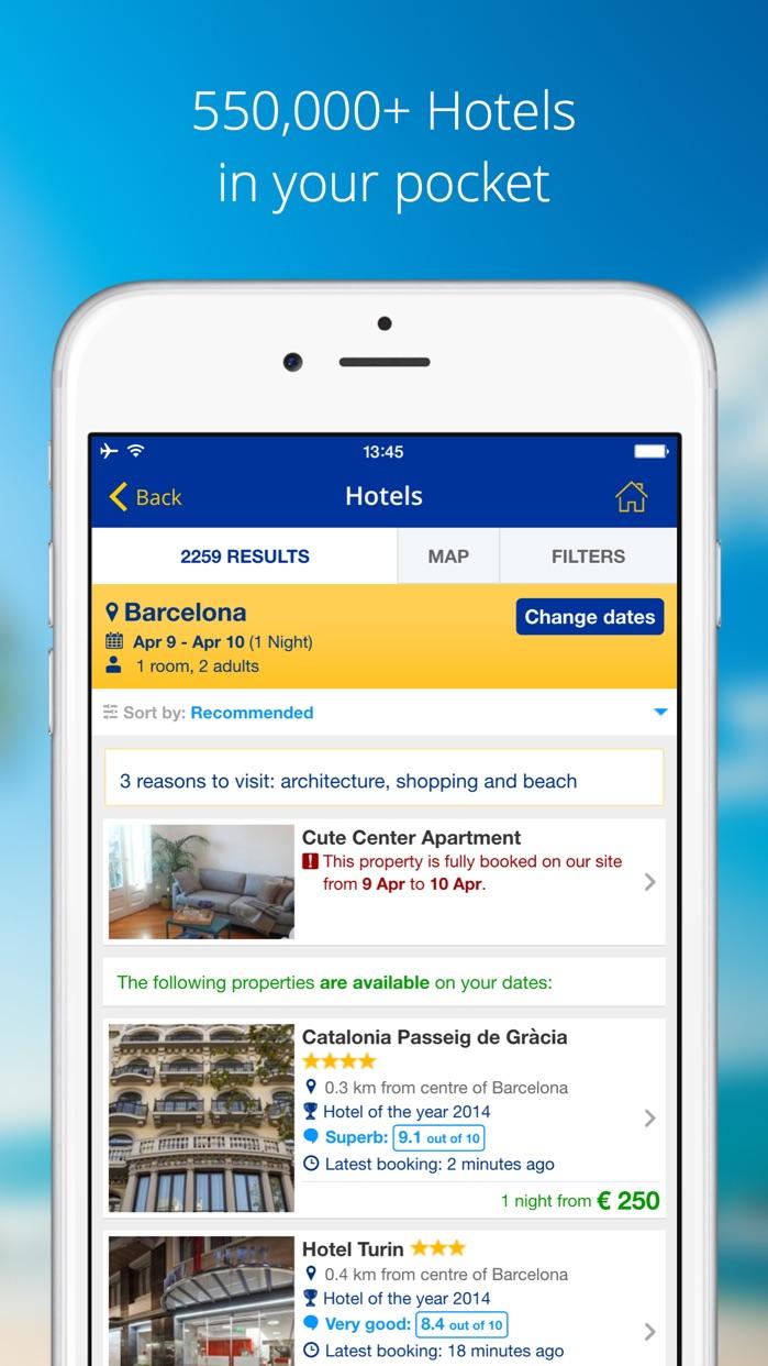 eDreams-Flights, Hotels & Cars Screenshot