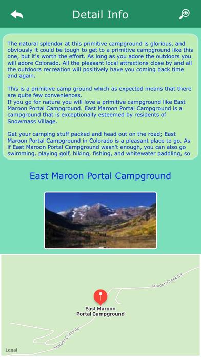 Colorado Campgrounds Guide screenshot three