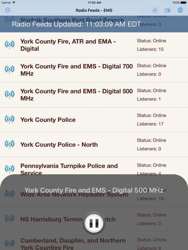 York County Emergency & Radio on the App Store