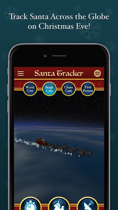 Screenshot for Santa Video Call & Tracker™ in United States App Store