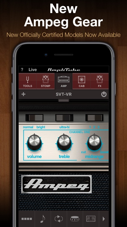 AmpliTube CS screenshot-1