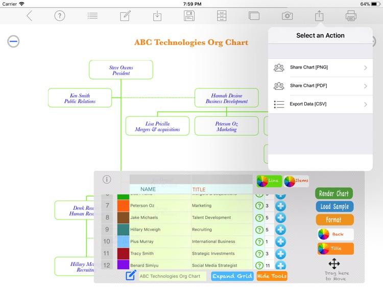 Org Chart Maker screenshot-3