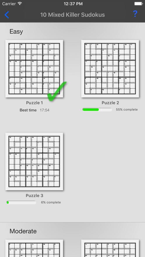 Killer Sudoku +】应用信息- iOS App基本信息|应用截图|描述|内
