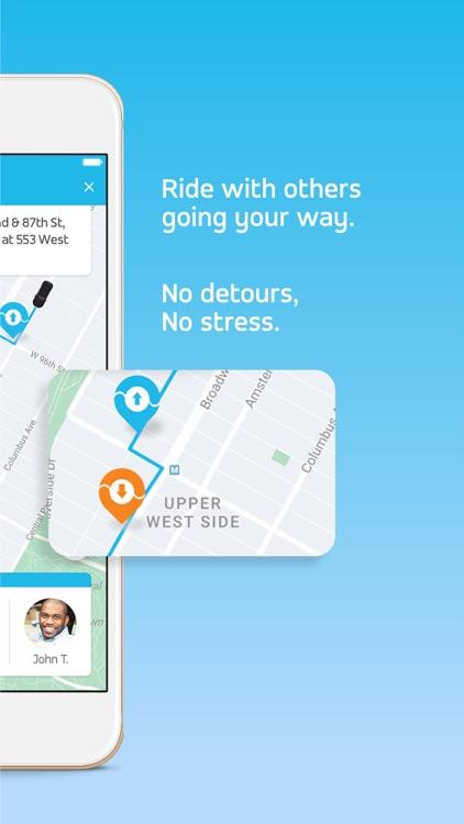 Via - Affordable Ride-sharing screenshot-3