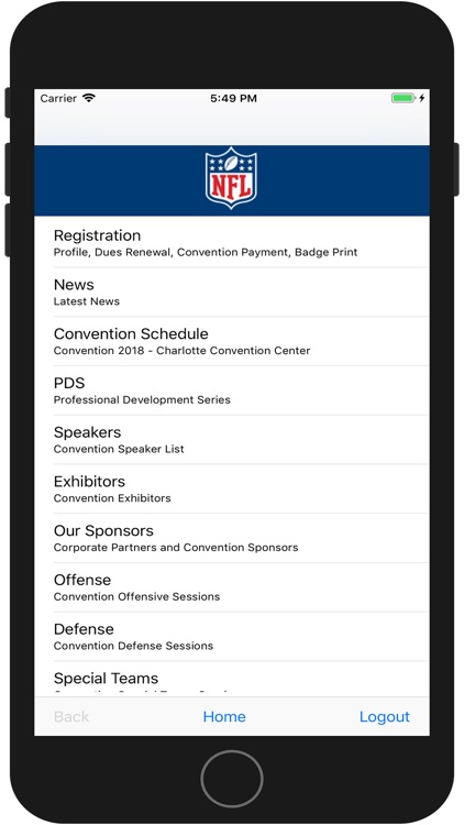 AFCA Mobile 2018 screenshot-0