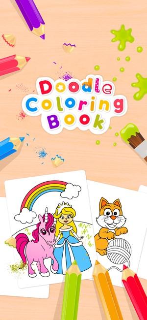 Doodle Coloring Books im App Store