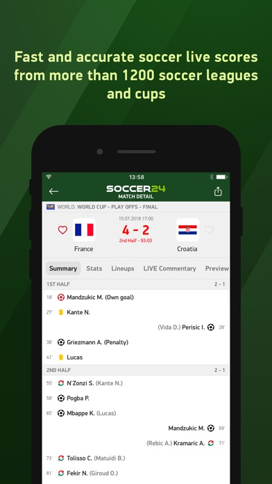 download Soccer 24 - soccer live scores apps 2