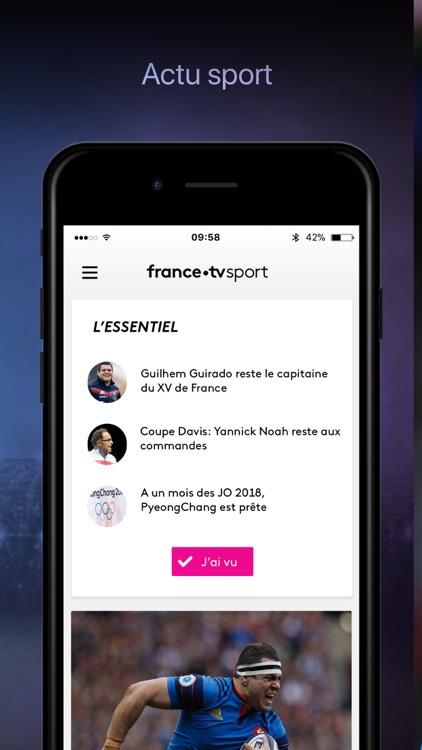 france·tv sport: actu sportive screenshot-0