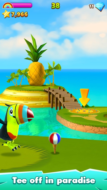 Golf Island screenshot-0