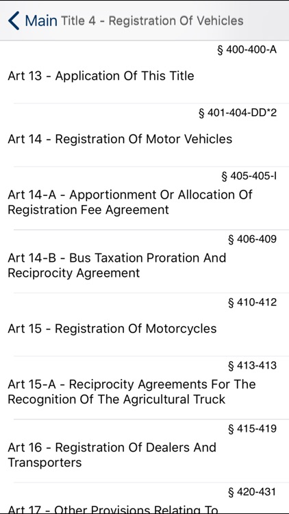 NY Vehicle & Traffic Law 2018 screenshot-4