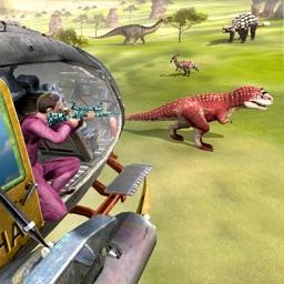 Wild Dinosaur Hunt Helicopter