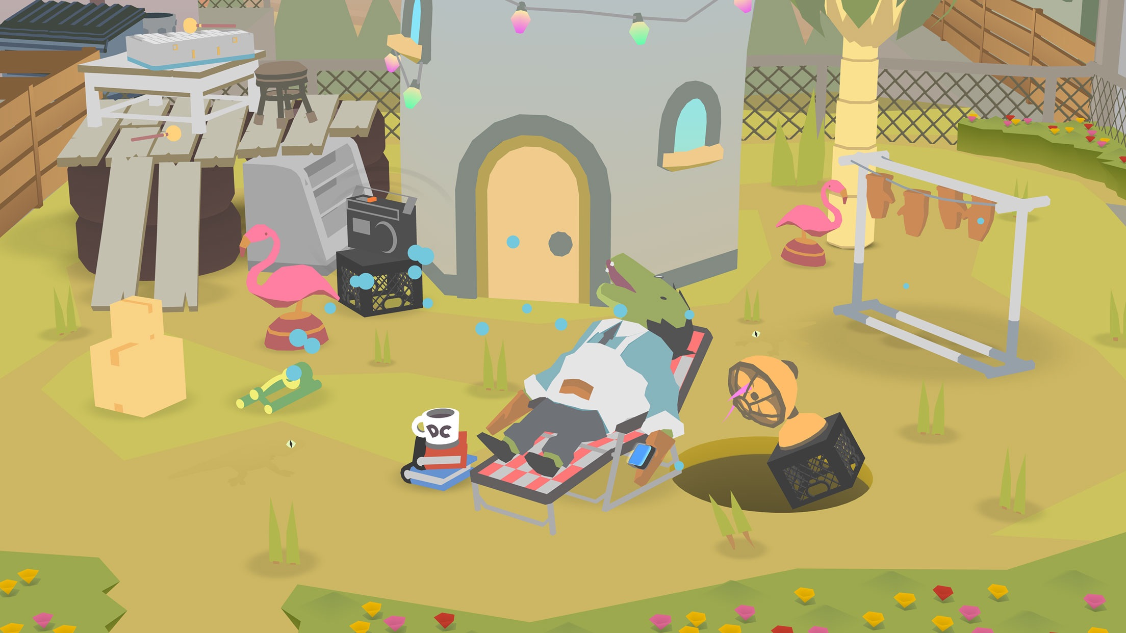 Screenshot do app Donut County
