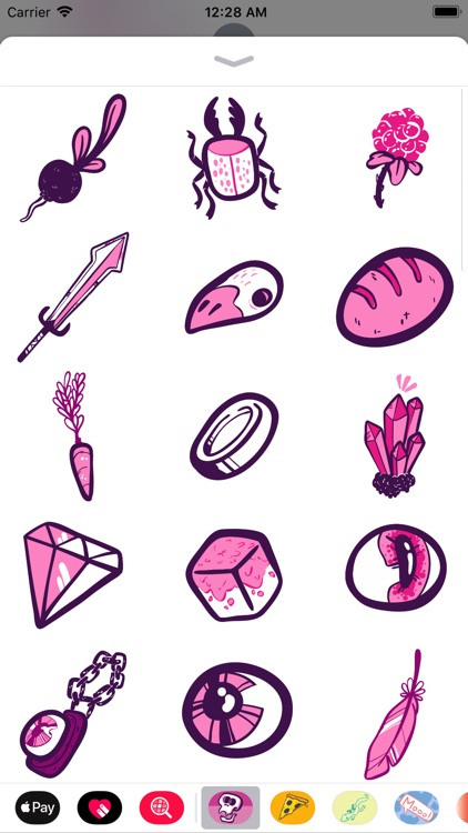 Fantasy Doodle Stickers