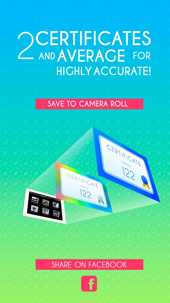 IQ Test Pro Edition Screenshot