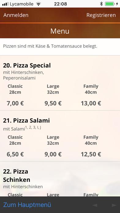 Pizza 96 HannoverScreenshot von 4