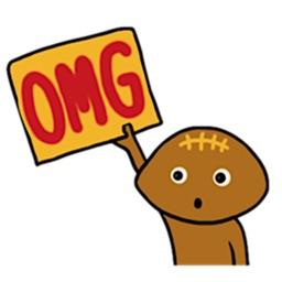 Rugbyball Man Emoji Sticker