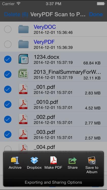VeryPDF Scan to PDF