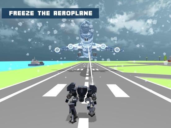 Snow Robot War: Freezing Power screenshot 10