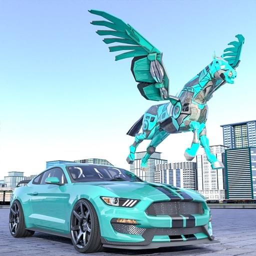 Flying Horse Robot War