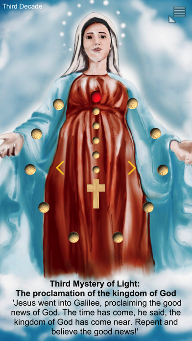 Divine Mercy OnePray screenshot two