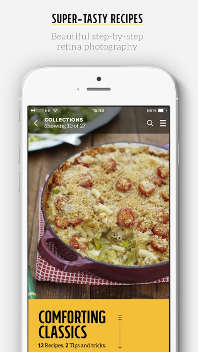 Screenshot for Jamie's Recipes in Egypt App Store