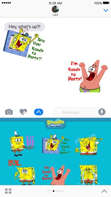 SpongeBob Stickers!