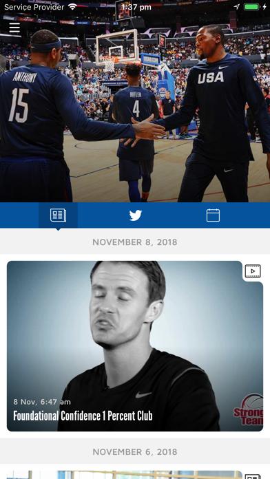 Screenshot #2 pour USA Basketball