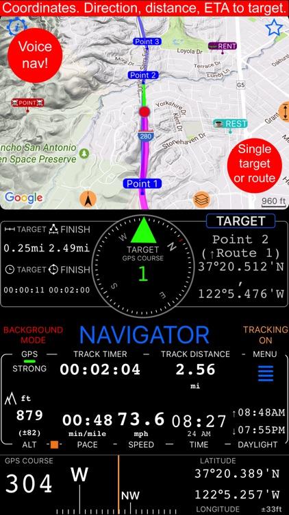 Compass 55. Map & GPS kit. screenshot-4