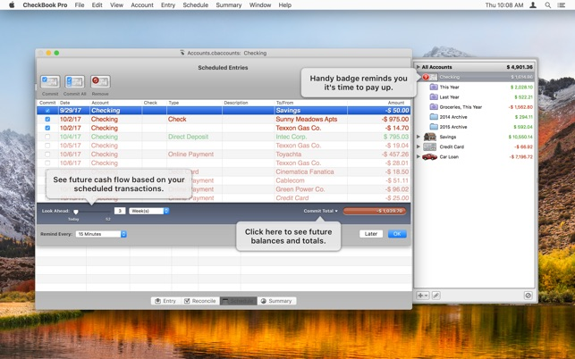 checkbook pro on the mac app store