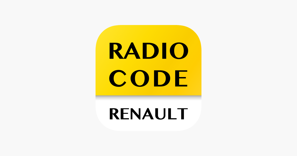 Radio Code for Renault