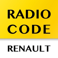 ‎Radio Code for Renault Stereo