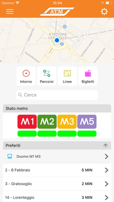 Screenshot for ATM Milano Official App in Lebanon App Store