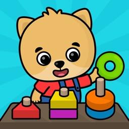 Kindergarten learning games 2+