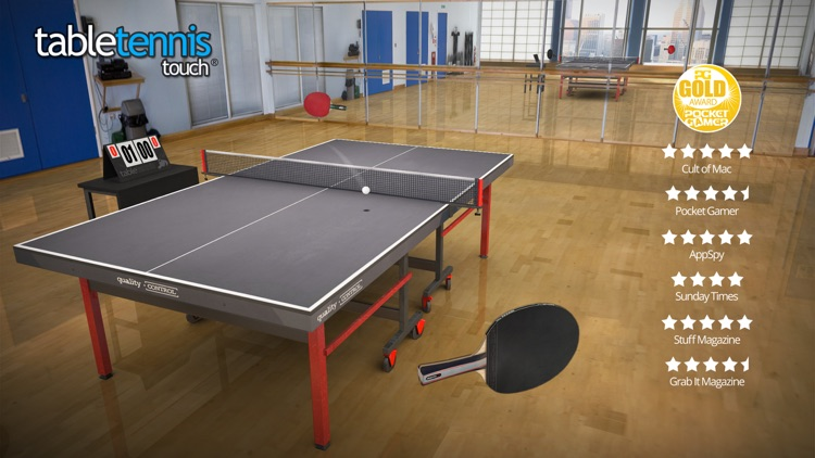 Table Tennis Touch screenshot-0