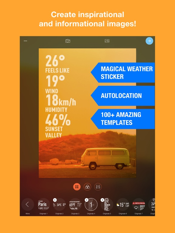WeatherShot Pro Screenshots