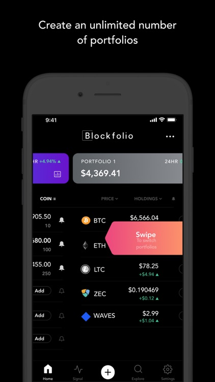 Blockfolio - Bitcoin Tracker screenshot-3