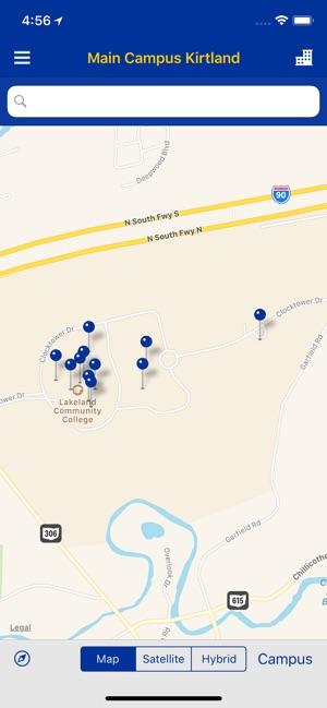 Lakeland Community College Campus Map.Mylakeland Mobile On The App Store