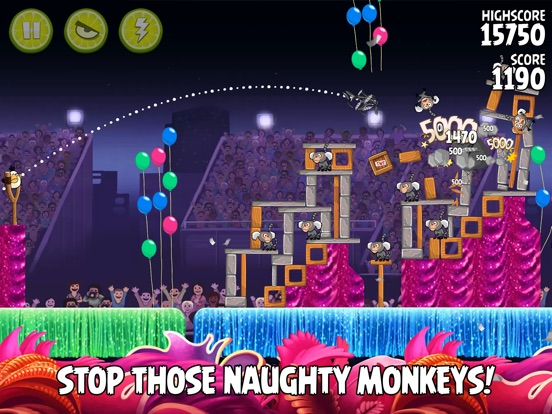 Angry Birds Rio HD Screenshots
