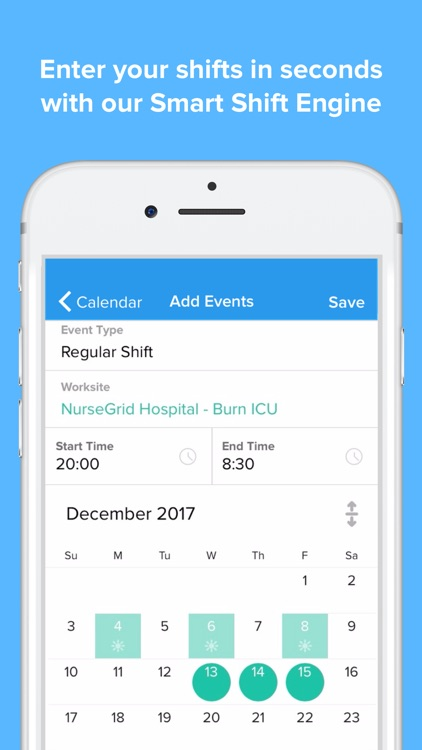 NurseGrid Mobile screenshot-4