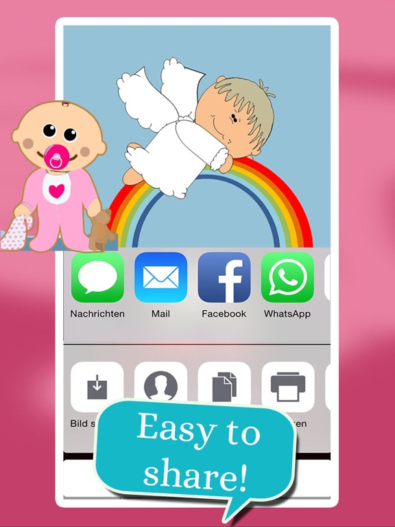 Baby - Birth Card Maker screenshot 10