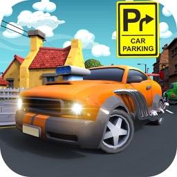 Toon Car Parking Cartoon City