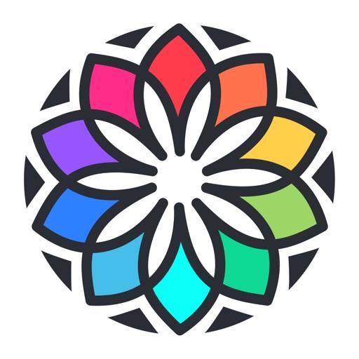 私塗り絵本 - 着色ゲーム